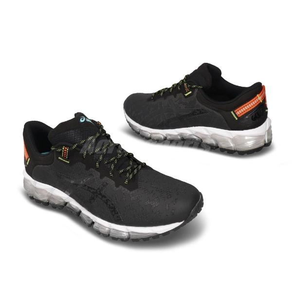 【五折特賣】Asics 慢跑鞋 Gel-Quantum 360 5 TRL 黑 黃 男鞋 越野跑鞋 運動鞋 【ACS】 1021A150020