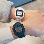 ins超火chic風長方形手錶男女學生正韓簡約潮流ulzzang情侶電子錶 交換禮物