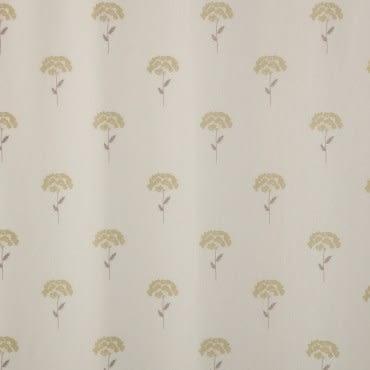 HOLA 綺園印花雙層遮光半腰窗簾-米白 270x165cm