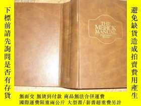 二手書博民逛書店THE罕見MERCK MANUAL FOURTEENTH EDI