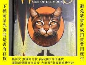 二手書博民逛書店精裝小說Warriors:罕見Sign of the MoonY
