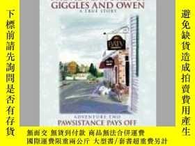 二手書博民逛書店The罕見Adventures of Giggles and Owen: Adventure Two - Paws