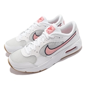 Nike 休閒鞋 Air Max SC SE GS 白 粉紅 氣墊 女鞋 大童鞋 【ACS】 DB3087-001