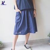 【下殺↘5折】American Bluedeer-前中假開襟裙 春夏新款