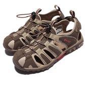 HI-TEC Cove Womens 卡其 粉紅 護趾涼鞋 水陸兩棲 戶外 涼鞋 女鞋【PUMP306】 O006193047
