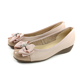 HUMAN PEACE 休閒鞋 低跟 粉紅色 蝴蝶結 女鞋 no658