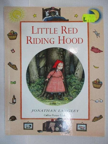 【書寶二手書T6/少年童書_DZX】Little Red Riding Hood_Jonathan Langley