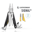 [Leatherman] SIGNAL 戶外工具鉗(尼龍套) (LE832265) 秀山莊戶外用品旗艦店