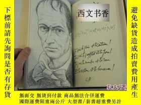 二手書博民逛書店世界名著罕見波德萊爾作品《惡之花 》皮埃爾 伊夫素描繪畫,197