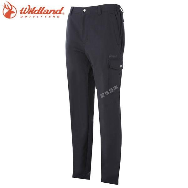 【下殺↘990】WildLand荒野 S2376 男彈性貼袋四季款休閒長褲 (S~2L) / 城市綠洲 (雙向彈性、露營、休閒)