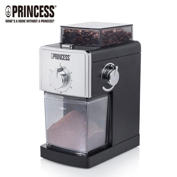 【現貨熱賣+本月主打】荷蘭公主 242197 Princess 專業咖啡磨豆機 附清潔刷+17段研磨粗細設定