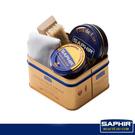 【SAPHIR莎菲爾】打亮拋光禮盒-皮鞋日常保養與拋光打亮工具的組合