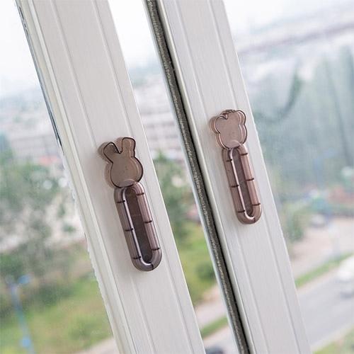 【超取299免運】多用途門窗拉門輔助器 (2個裝) 簡約抽屜櫃子拉手 窗戶櫥櫃門把手
