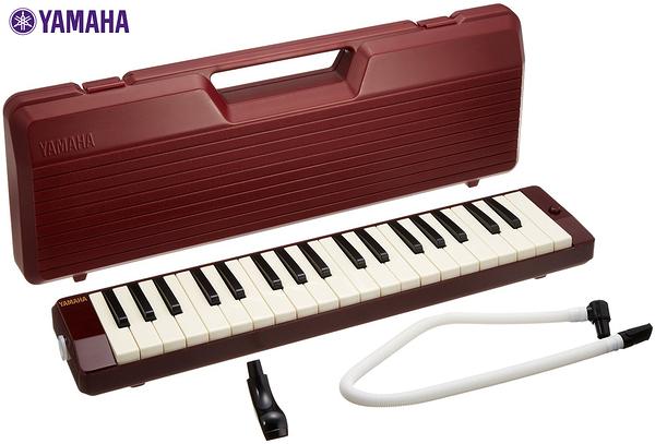 小叮噹的店- 口風琴 37鍵 P-37D 山葉YAMAHA 附吹嘴/琴盒