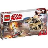 75204【LEGO 樂高積木】星際大戰 Star Wars-沙地飛艇 Sandspeeder