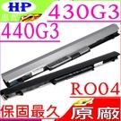 HP 430G3,440G3 電池(原廠)-惠普電池 RO04, RO06XL,RO06055XL,HSTNN-LB7A,HSTNN-PB6P,RO06