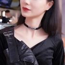 項鍊:女短款韓國頸鍊脖子飾品頸帶 【新飾...