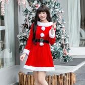 聖誕衣服聖誕服裝女性感成人兔女郎演出服cos舞會可愛表演ds聖誕節衣服裝 免運 艾維朵