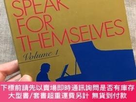 二手書博民逛書店Great罕見Pianists Speak for Themselves, Volume 1 著名鋼琴家訪談集 第