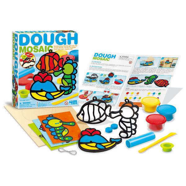 【4M】美勞創作系列-馬賽克黏土藝術(海洋) Dough Mosaic-Making Kit(Ocean) 00-04600