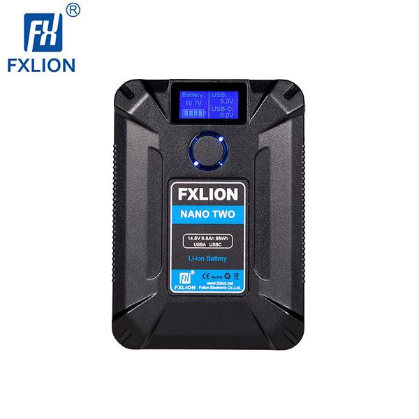 黑熊數位 Fxlion NANO TWO V口電池 98Wh TYPE-C D-TAP V掛電池 V-mount V型
