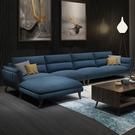 沙發標爵北歐沙發客廳小戶型布藝沙發組合簡約現代全實木沙發整裝家具 【現貨快出】YJT