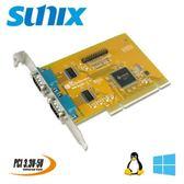 SUNIX 2埠RS-232 串列 & 1埠Parallel PCI通信卡