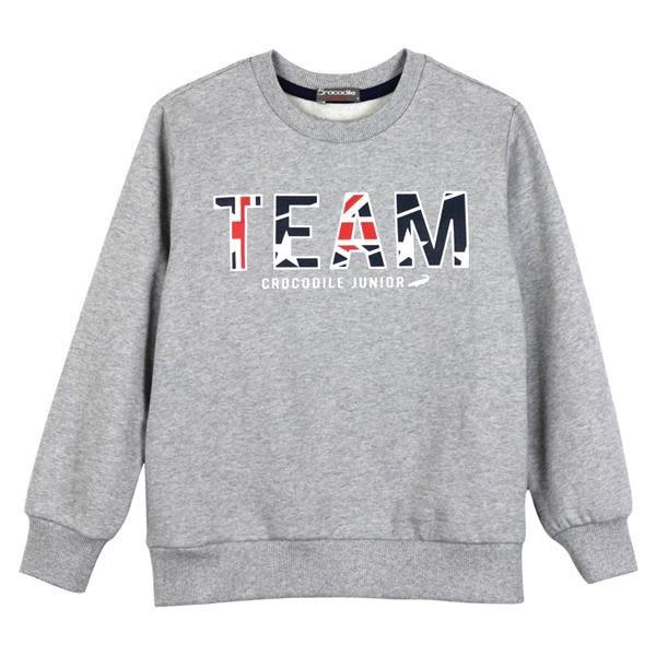 『小鱷魚童裝』運動風內刷毛T恤(08號~20號)552407