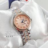 valentino coupeau范倫鐵諾 古柏 風車紋晶鑽時刻指針錶 防水手錶 女錶 學生錶 玫瑰金 V61607TRAL-3