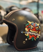 ZEUS,瑞獅安全帽,382BC,限量 文青 台灣文化 安平劍獅 永保安康 刺繡/紅