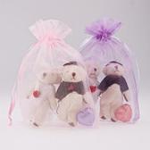 婚禮小物 結婚熊喜糖 - 喜糖用/婚糖用/送客小禮/活動禮/二次進場 幸福朵朵