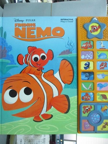 【書寶二手書T7/少年童書_YBF】Disney: Finding Nemo (Interactive Sound Bo