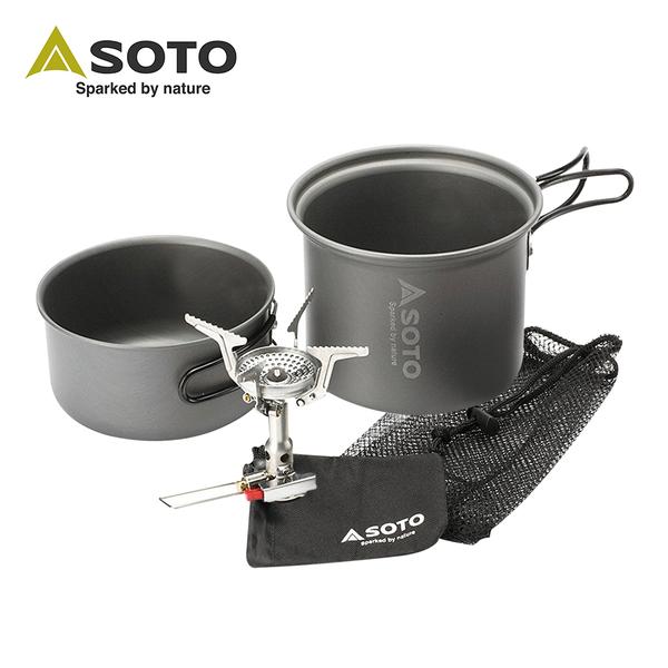 SOTO 攻頂登山爐組SOD-320CC 攻頂爐/登山/SOD-320/SOTO/爐具/防風爐(預計3月中依序出貨)