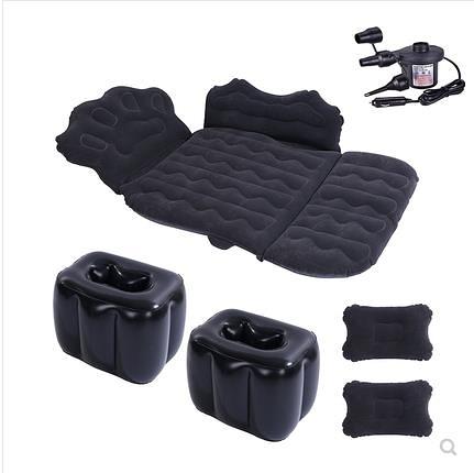 充氣床 車載充氣床墊后排車用睡墊旅行床轎車后座車內睡覺神器折疊氣墊床 晶彩