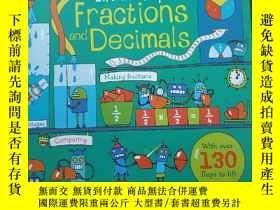 二手書博民逛書店Lift-the-flap罕見Fractions and DecimalsY380600 rosie dick