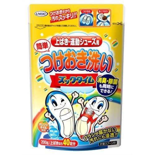 日本UYEKI速效鞋子清潔劑洗鞋粉酵素洗鞋劑200g運動鞋用065550通販屋
