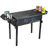 愛迪利戶外燒烤爐 家用便攜式木炭燒烤架 折疊烤肉爐子3人-5人