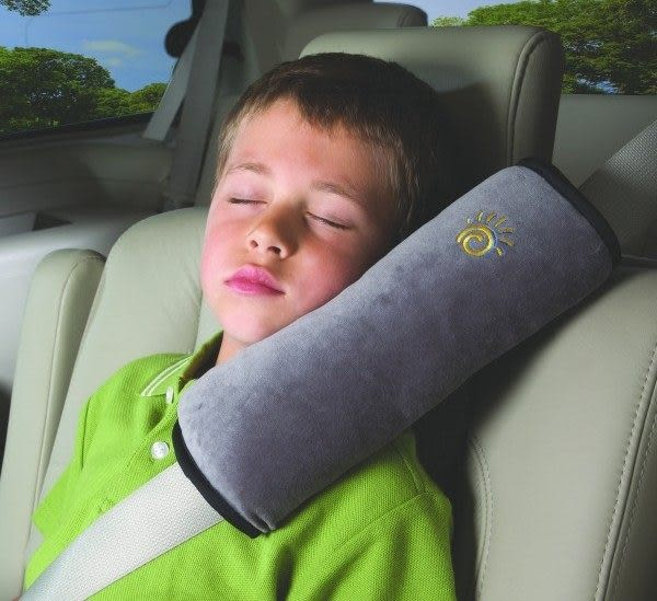 汽車用超大安全帶套 安全帶護肩套 兒童安全帶護套 安全座椅配件 寶寶安全帶 汽車護肩《4G手機》