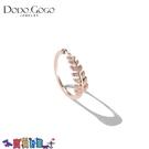 戒指女 韓國18K玫瑰金戒指女網紅時尚輕奢小眾小指尾戒指環關節鈦鋼飾品新品