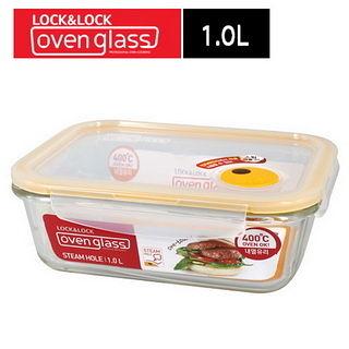 【樂扣樂扣】輕鬆熱耐熱玻璃保鮮盒_1.0L_長方形(LLG445T)