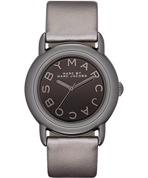 Marc Jacobs 品牌玩家時尚腕錶-鐵灰 MBM1220
