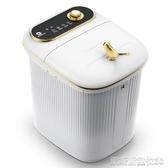 泡腳桶足浴盆器全自動按摩電動加熱家用洗腳盆小型恒溫高深過小腿泡腳桶(免運快出)