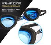泳鏡男女防水防霧高清游泳眼鏡透明專業帶 東京衣櫃