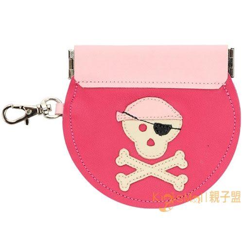 加拿大製Mally Designs,真皮手工零錢包Pirate,Pink