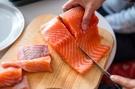 【禧福水產】智利鮭魚菲力排/特A級切工◇$特價549元/1kg±10%/包◇最低價日本料理購夜市會所可批發