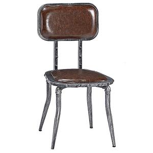 【YFS】布魯克鐵腳餐椅-43x39x87cm