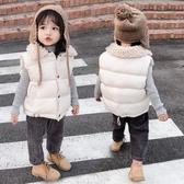 兒童馬甲 兒童棉背心秋冬裝加厚男童女童羽絨棉馬甲中小童保暖棉服外套【快速出貨】
