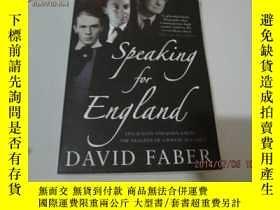 二手書博民逛書店speaking罕見for england11905 speak
