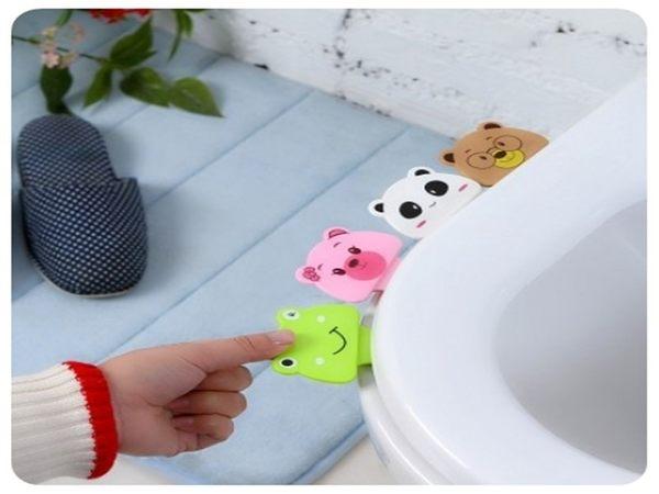 【卡通提蓋器】乾淨衛生不髒手馬桶提蓋器 馬桶蓋把手揭蓋器 座便器提手翻蓋器