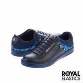 Royal Elastics New Duke 潮流休閒-藍x印花